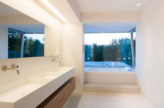 Badezimmer - Feuchträume in Betonoptik (von Fugenlose  mineralische Böden und Wände )