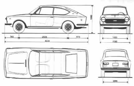 fiat 125 coupe ficha tecnica - Buscar con Google
