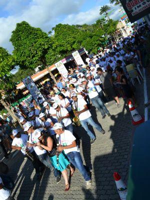 Cortejo de músicos em Guaramiranga, CEARÁ - BRASIL (Foto: André Teixeira/G1)