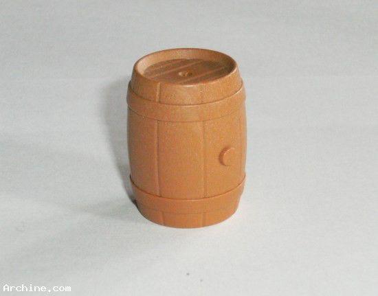 Playmobil western - tonneau marron
