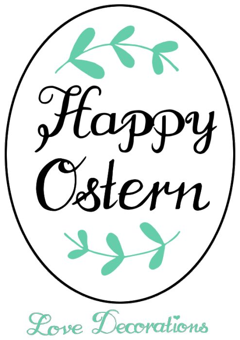 Happy Ostern Linkparty – Love Decorations