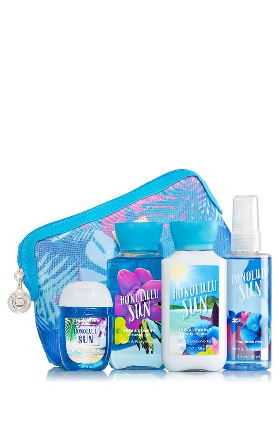 Honolulu Sun Beach in a Bag Gift Set - Signature Collection - Bath & Body Works