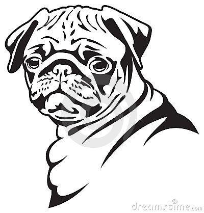 Download vector about pug clip art item 1 , vector-magz.com library of