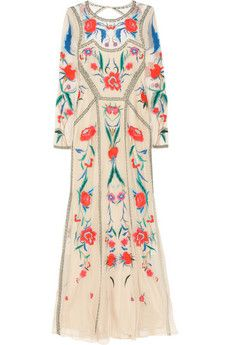 Oh God, it's the dress that's been haunting me: Temperley London-  Eliah embroidered tulle dress