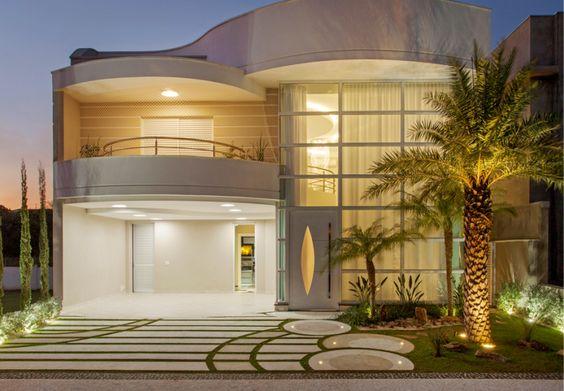 Casa sobrado com fachada moderna em terreno 12x30 - conheça todos os ambientes!: