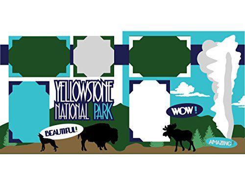 """Yellowstone"" Scrapbook Kit Scrapbook Concierge"