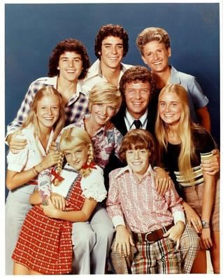 The Brady Bunch. Which of the brothers to fancy first? Loved their house - I thought everyone in the US lived like these guys.