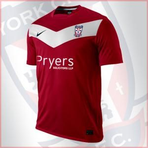 Hmmm...A York City replica jersey could be something a bit unusual.