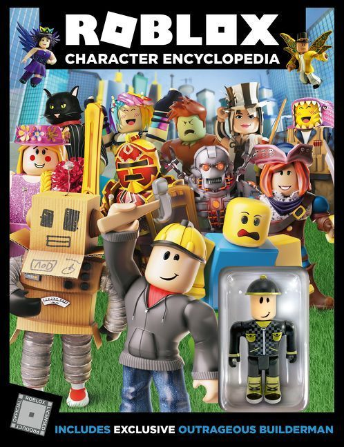 Roblox Character Encyclopedia Official Roblox Hardcover