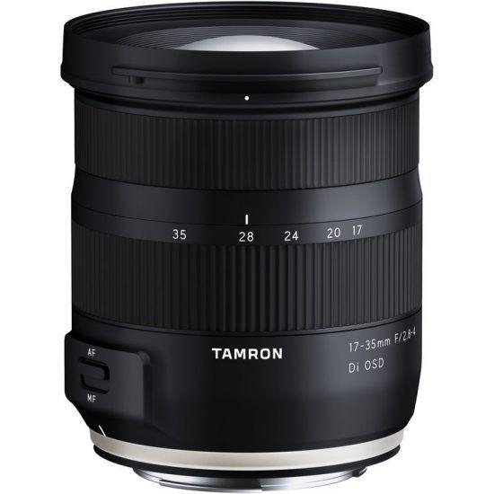 Tamron 17 35mm F 2 8 4 Di Osd Lens Model A037 Announced Available For Pre Order Nikon Rumors Tamron Nikon Canon Lens