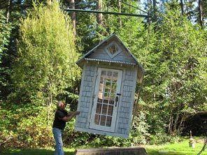 Quaint garden sheds made of all reclaimed materials!...