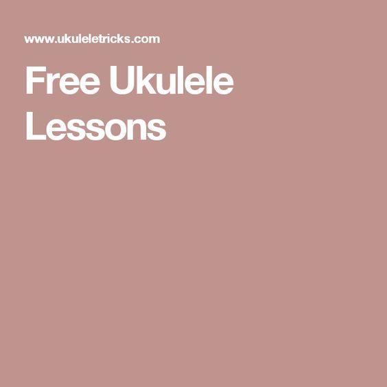 Free Ukulele Lessons Basics, chords & strumming, finger picking, music theory, scales, performance