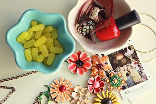 nail polish and jelly beans!!!!!