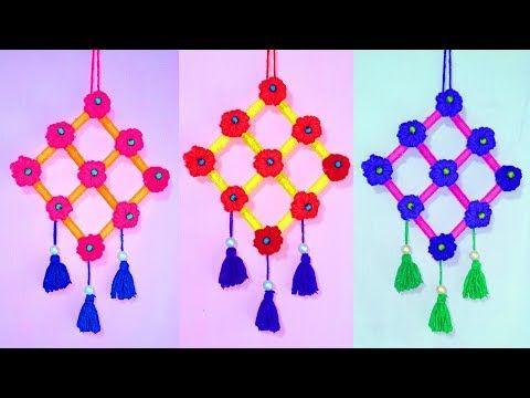 Wow Diy Woolen Craft Idea With Pen Diy Arts And Crafts Best
