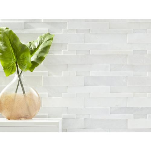 Lexington White Honed Quartzite Panel