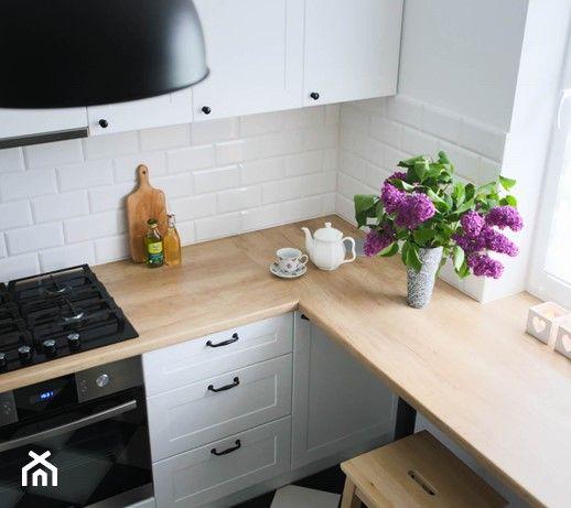 Mala Kuchnia Aranzacje Inspiracje I Pomysly Na Modny Wystroj 2020 Strona 2 Kitchen Kitchen Cabinets Decor