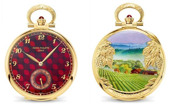 Patek Philippe Rare Handcrafts Napa Valley Pocket Watch New York 2017