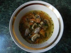 супы по дюкану рецепты