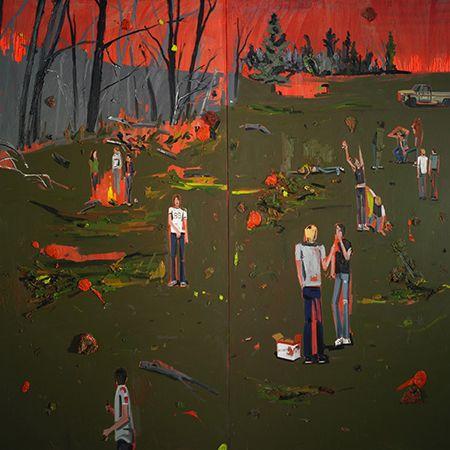 Les peintures de Kim Dorland !