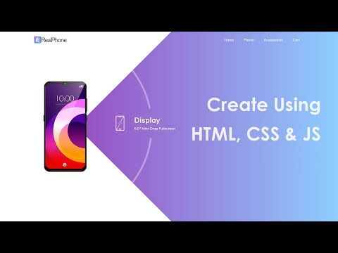 How To Make A Website Using Html Css And Javascript Step By Step Website Design Tutorial Youtube In 2020 Website Design Tutorial Website Design Design Tutorials