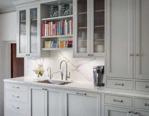 Benjamin Moore S Gray Color Metropolitan Af 690 Decorated Life Grey Kitchen Cabinets New Kitchen Cabinets Painting Kitchen Cabinets