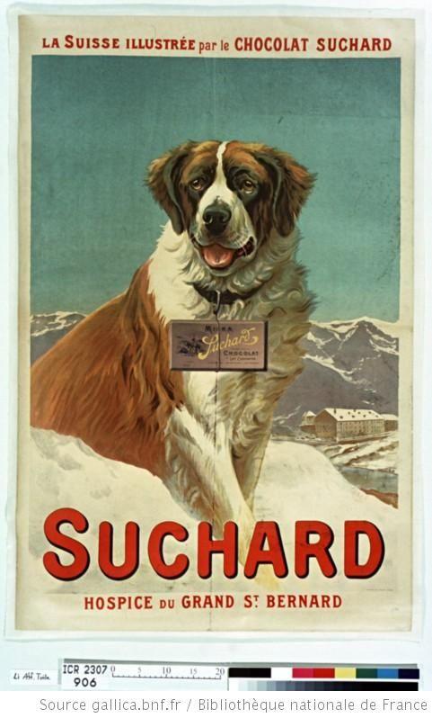 La Suisse illustrée par le chocolat Suchard (Gallica)