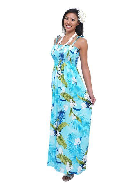 hawaiian dresses for women
