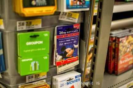 Disney Gift Cards for sale at Target