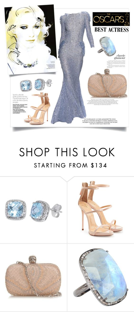 """""""Cate's Oscar Glam"""" by zeynepciim ❤ liked on Polyvore featuring Giuseppe Zanotti, ECCO, Alexander McQueen, ADORNIA, contestentry, fashionset, polyvorecontest and oscarfashion"""