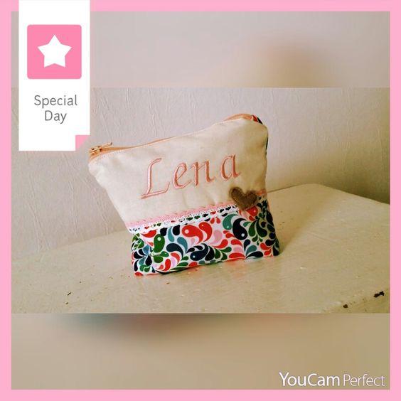 Kleines Täschchen für kleine Mädchen. ... schön befüllt ein süßes Geschenk ♡