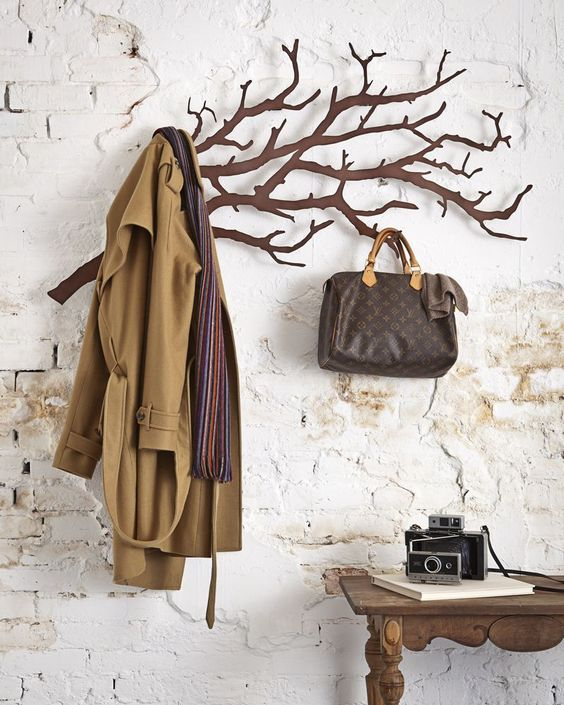 Tree Coat Rack Coat Racks And Baggage On Pinterest