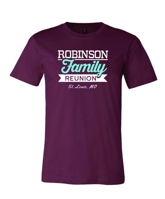 family reunion t shirts custom family reunion t shirts