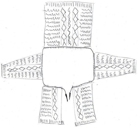 Joining sweater parts at the underarm: Here comes the fun! | Fringe Association