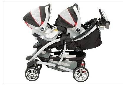 Graco Quattro Tour Duo Double Stroller Travel System For Twins