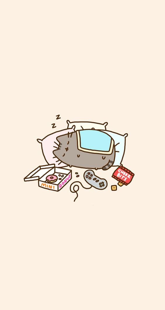 pusheen wallpaper phone Wallpapers HD Pinterest