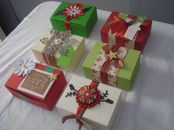 empaques navideños para regalos - Buscar con Google