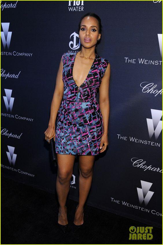 Kerry Washington & Benedict Cumberbatch Party Before the Oscars with Jennifer Lopez | kerry washington benedict cumberbatch oscar 2015 parties 09 - Photo