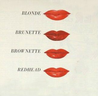 Tru Color, 1941 --- Tru-Color lipstick was launched in 1940 in six shades of red.