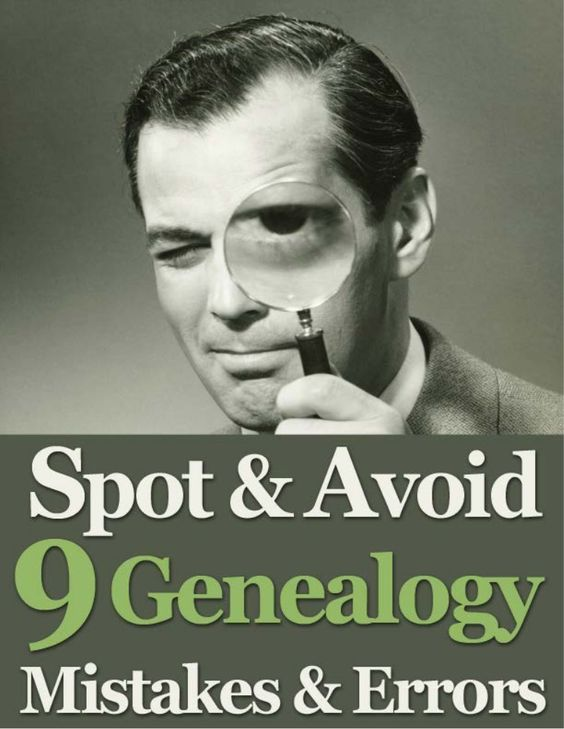 Learn to do better genealogy research with these expert tips from GenealogyBank on 9 mistakes and errors to look out for. Discover how to avoid making these co…