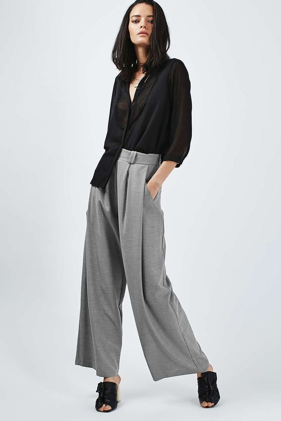 Extreme Wide Leg Trousers - Topshop