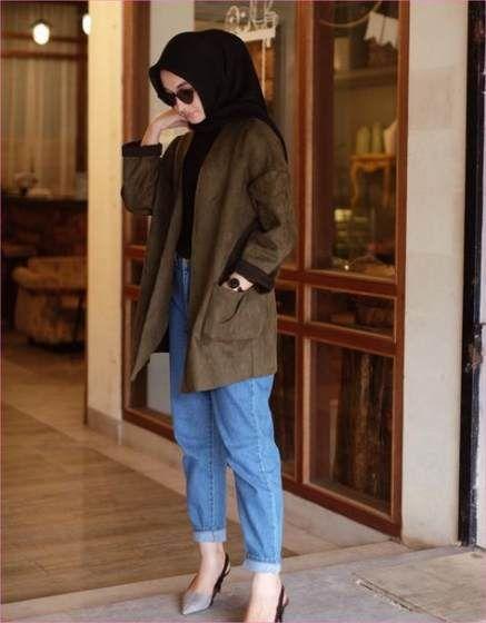 Style Celana Jeans Longgar Wanita Hijab - Hijab Lifestyle
