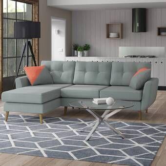 Zipcode Design Moana Corner Sofa Reviews Wayfair Co Uk In 2020 Corner Sofa Modular Corner Sofa Mikado Living