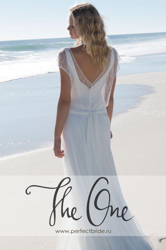 Креативное легкое свадебное платье для пляжа 2015 Dixit от Rembo Styling