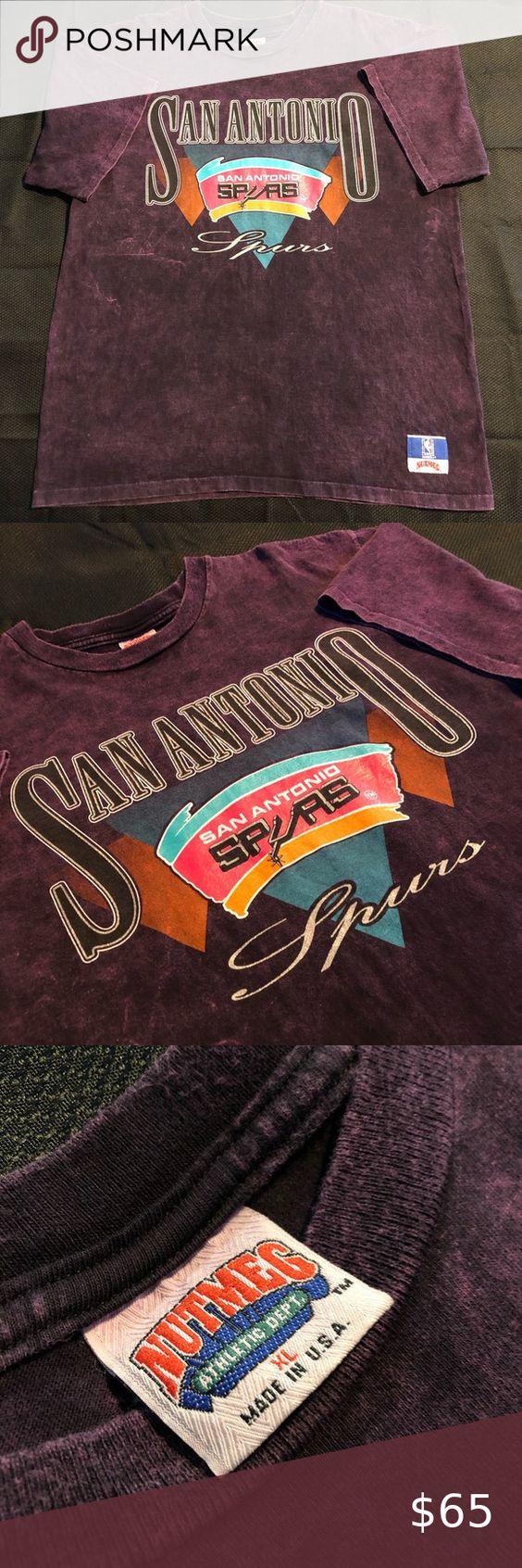Vintage San Antonio Spurs Shirt Spurs Shirt Camouflage T Shirts Vintage Shirts [ 1692 x 564 Pixel ]