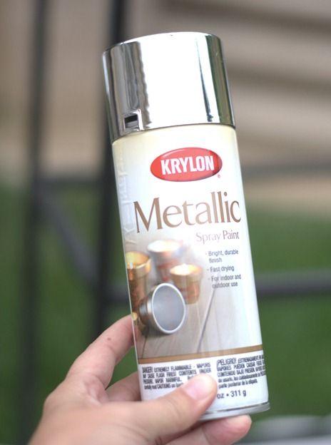 Krylon Spray Paint Silver Spray Paint And Silver Spray On Pinterest