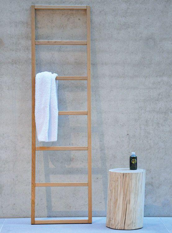 Garderobe Hip Von Jan Kurtz Handtuchleiter Handtuchhalter Holz Kleiderleiter