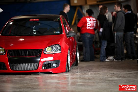 Super Charge A Red Mkv R32 Throw In A Black Vinyl Roof