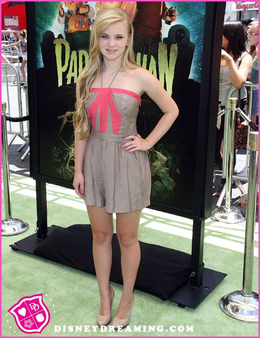 "Sierra McCormick Attends The ""ParaNorman"" Movie Premiere"