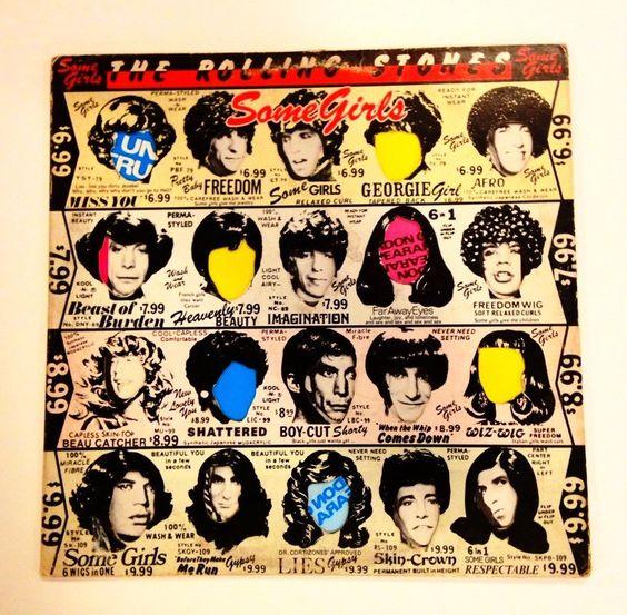 The Rolling Stones - Some Girls  vinyl record album LP