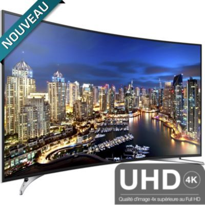 "Tv led Boulanger, achat TV écran plat LED UHD 4K 55"" SAMSUNG UE55HU7100 UHD 800Hz CMR SMART TV prix promo Boulanger 1 990,00 € TTC"
